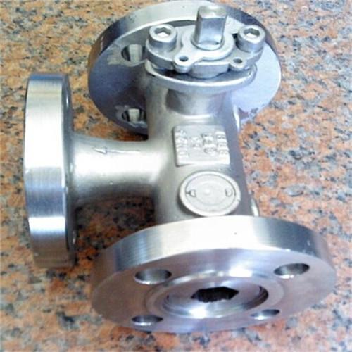 YQ44F不锈钢组合式三通球阀