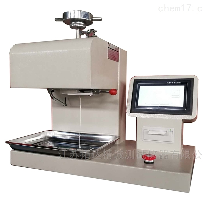 聚丙烯熔喷布熔融指数测定仪