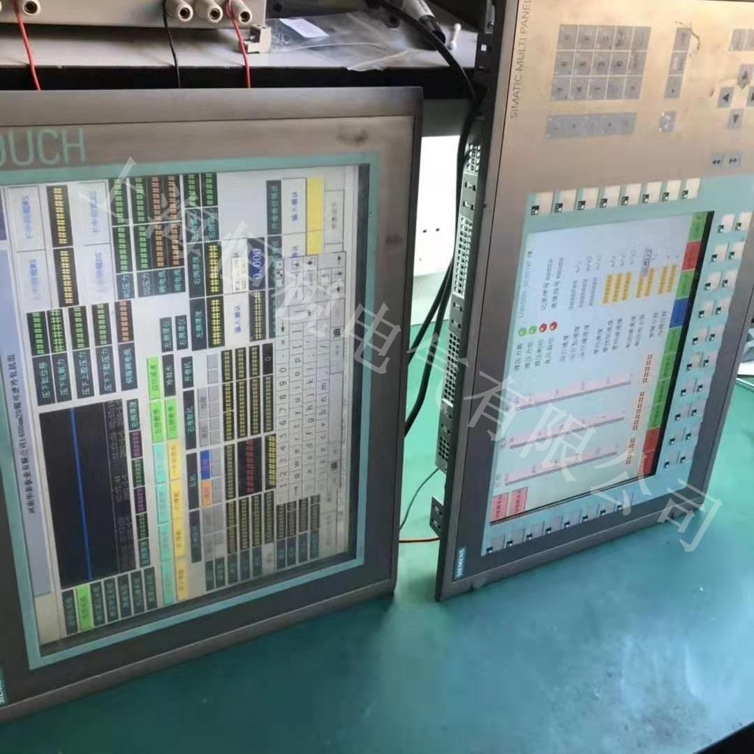 西门子显示屏TP1500按键全部不灵解决方法