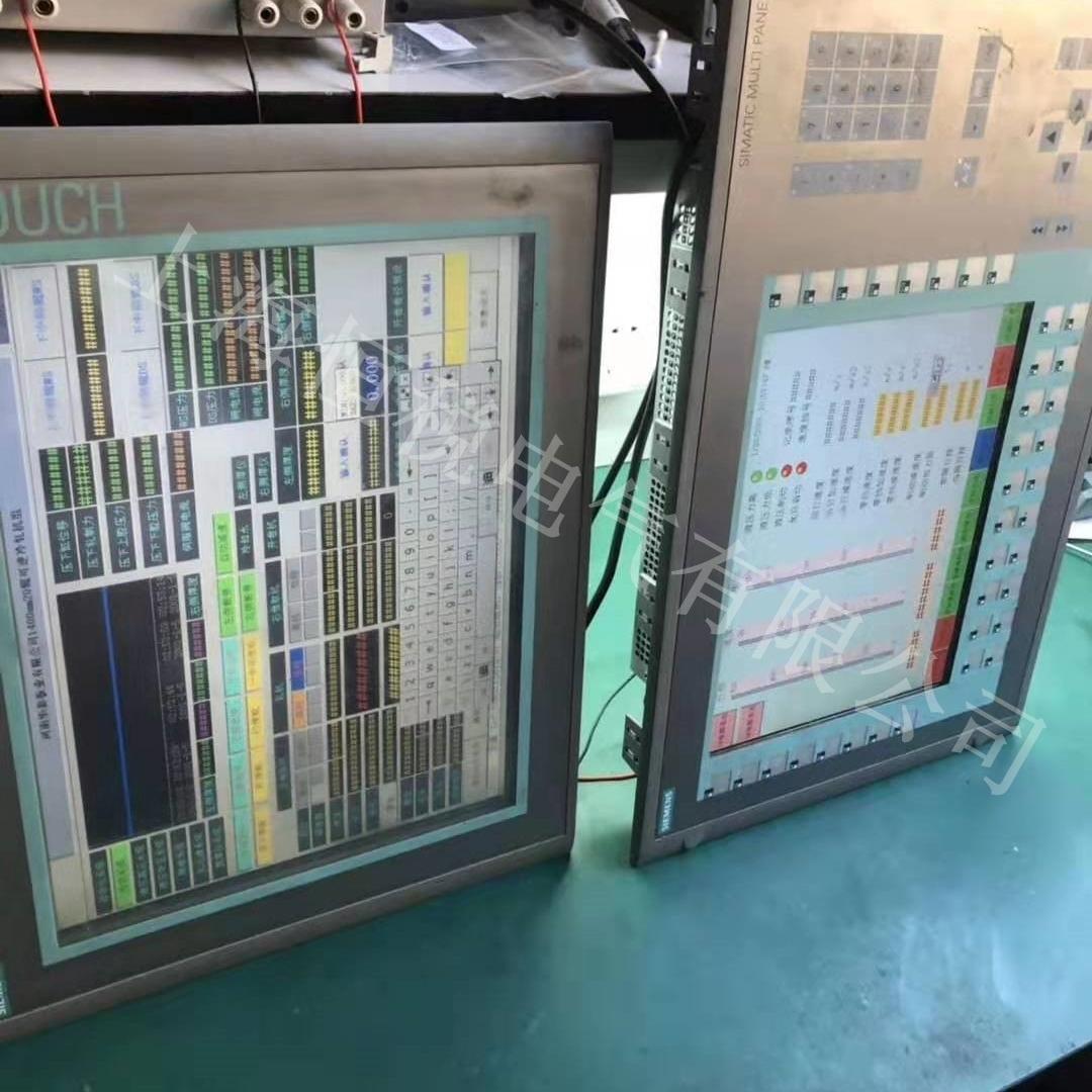 西门子显示屏TP1200/TP1500开机黑屏无显示