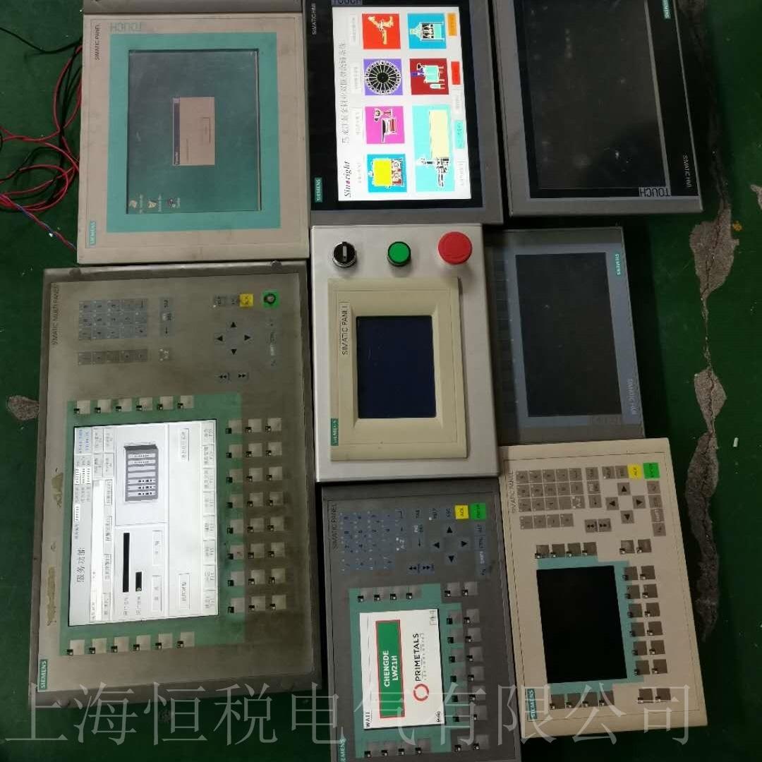 西门子工业触摸屏开机无法进入系统程序维修