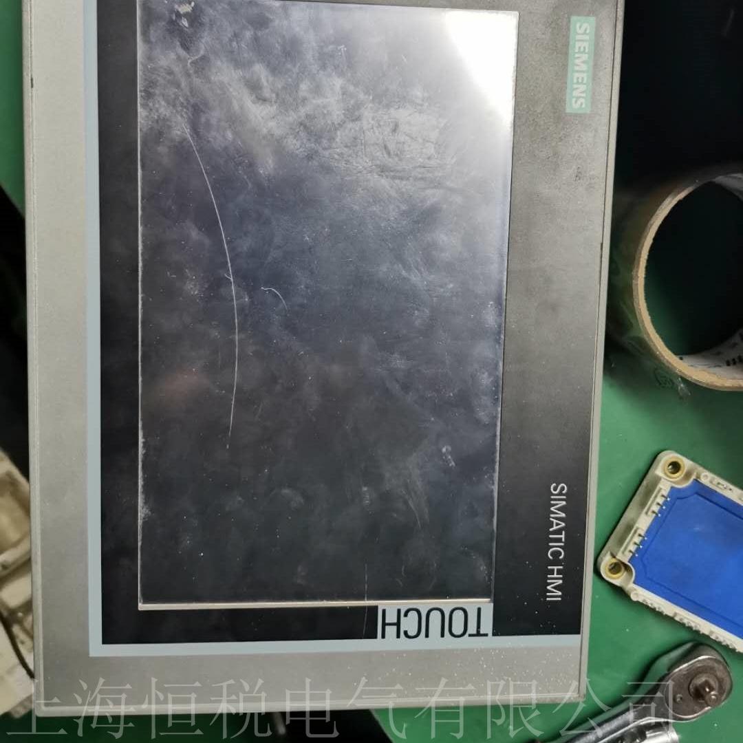 西门子触摸屏通电屏幕无反应故障解决方法