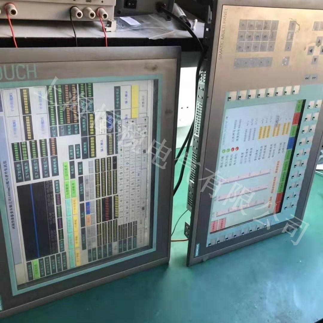 西门子触摸屏开机后白屏故障维修检测中心