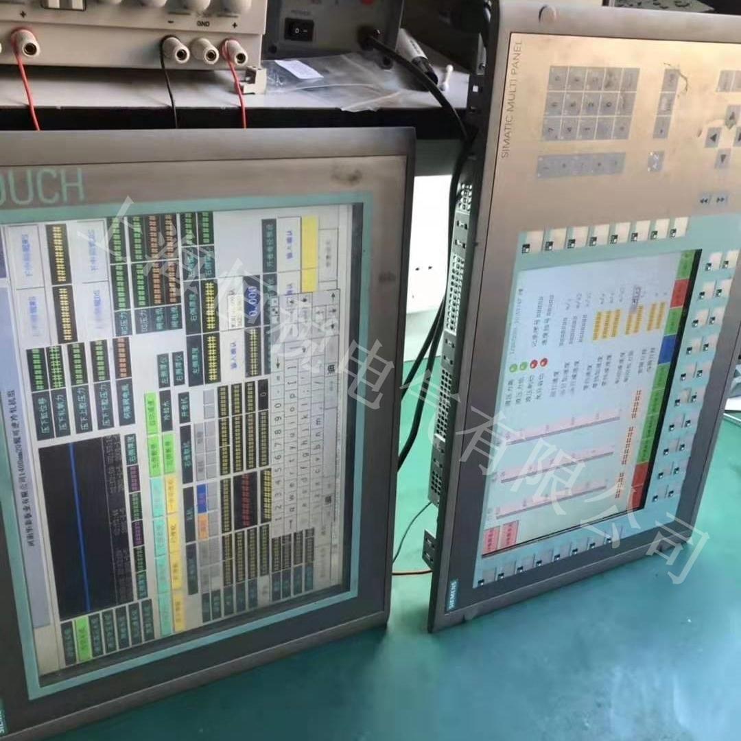 西门子显示屏触摸反应慢/ 触摸死机修复解决
