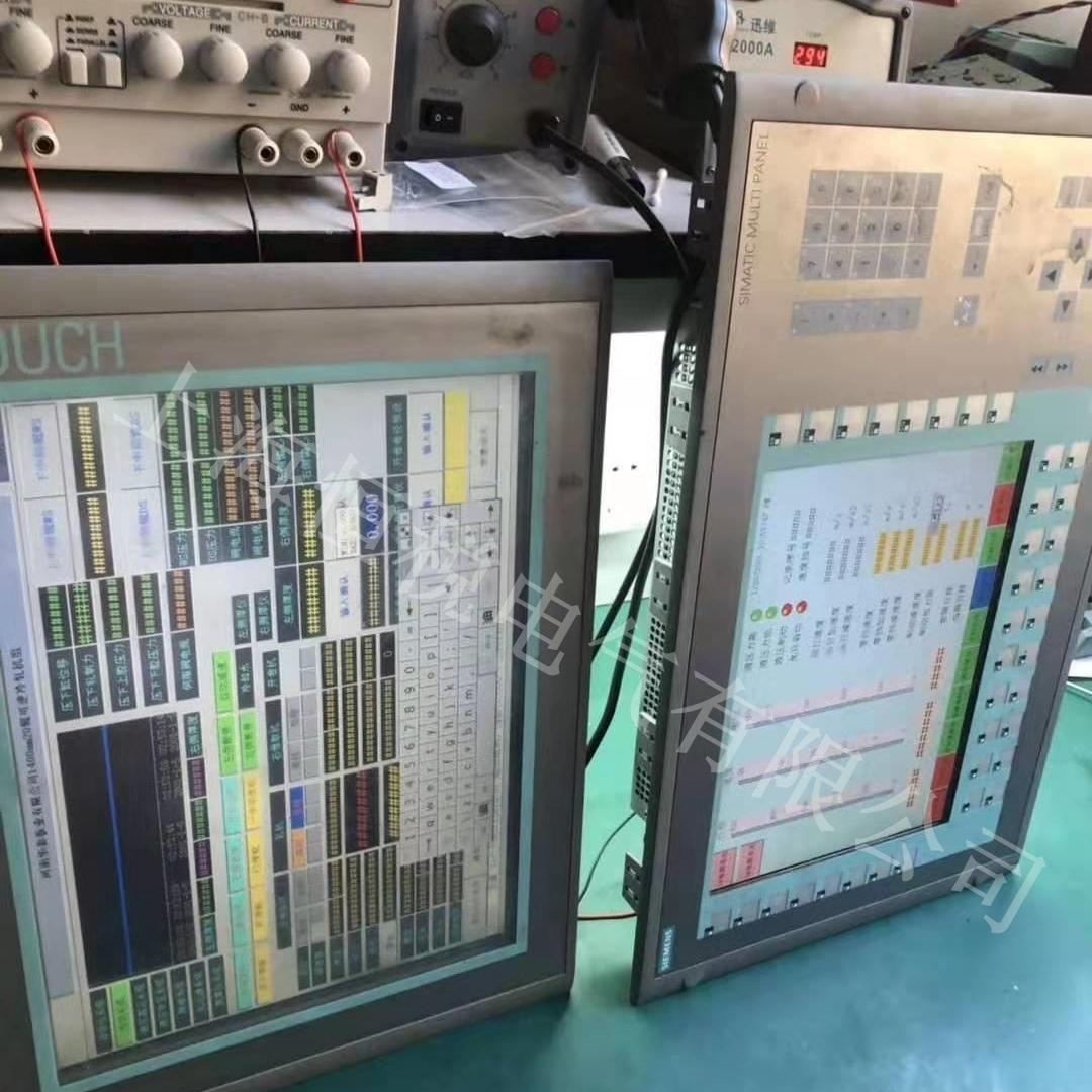 西门子显示屏上电启动没反应故障维修中心