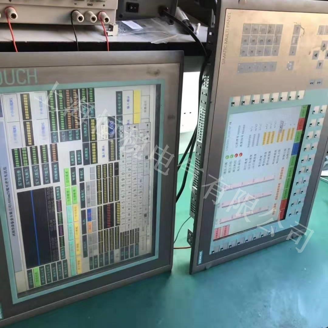 西门子显示屏开机进不去系统界面修理电话