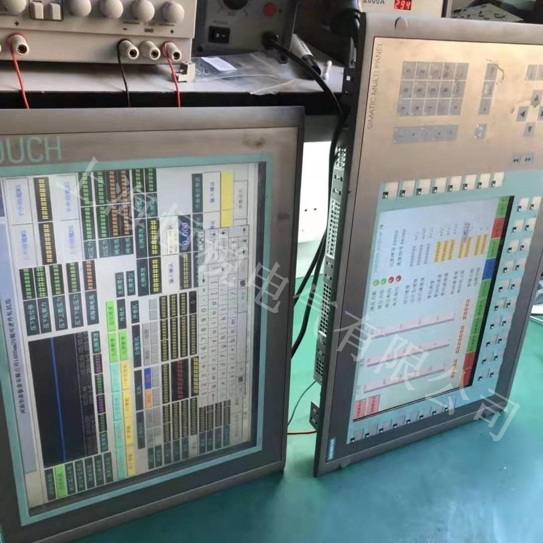 西门子显示屏触摸按键点击无反应售后维修