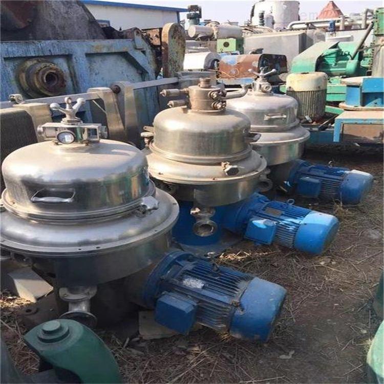 长期回收饮料厂设备蝶式分离机