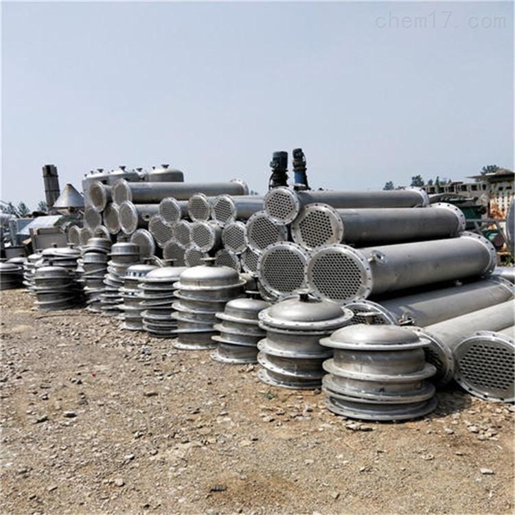 回收二手不锈钢列管式冷凝器