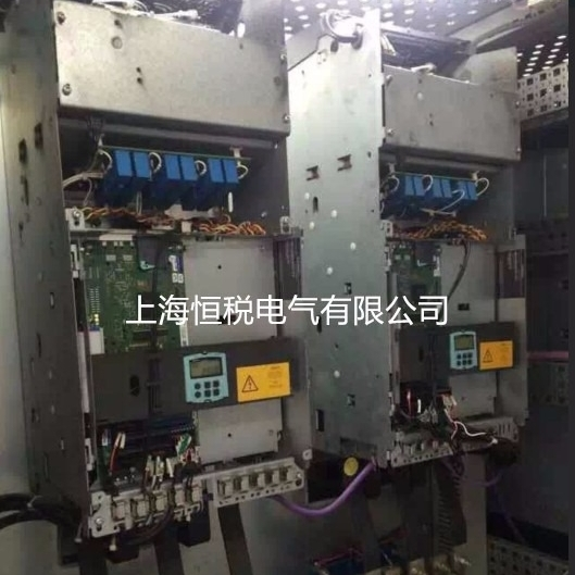 西门子控制器6RA80显示报警F60036故障维修