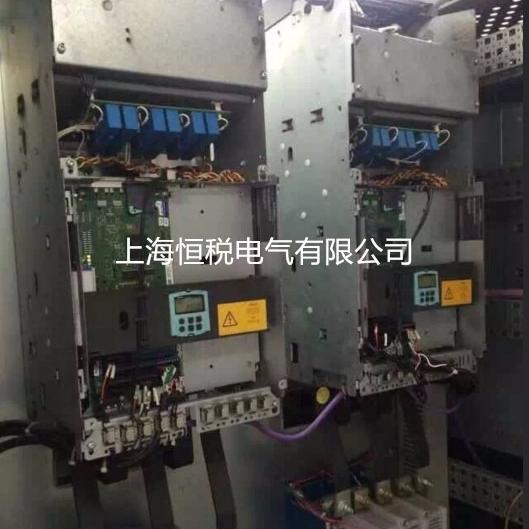 西门子变频器开机显示报警F60091当天修好