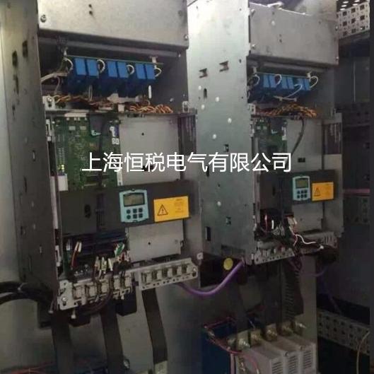 西门子变频器开机显示报警F60105上门修理