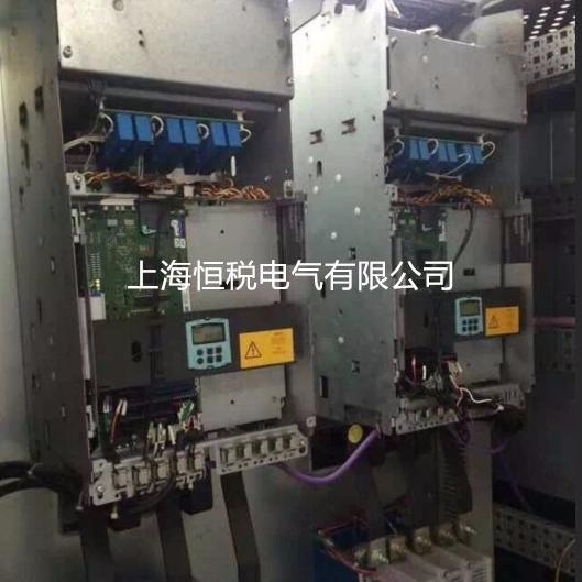 西门子变频器开机显示报警F60106修好可测