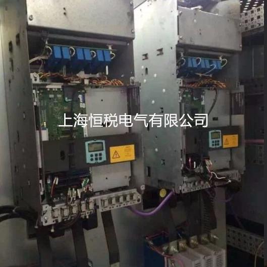 西门子直流控制器开机报警F60004现场修理