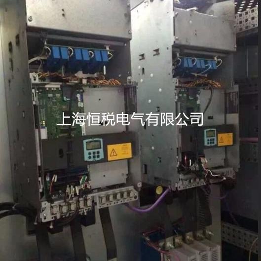 西门子直流控制器面板报警F60094上门修理