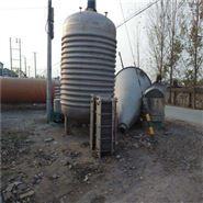 二手10吨内盘管不锈钢反应釜价格