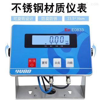 EX-0833優寶防爆電子秤,儀表