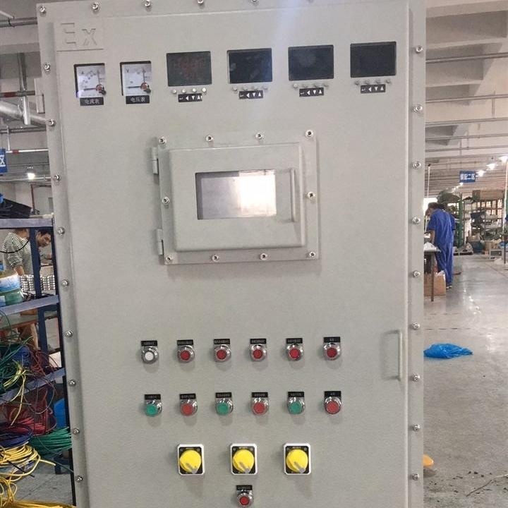鄂爾多斯碳鋼材質防爆雙電源控制|配電柜