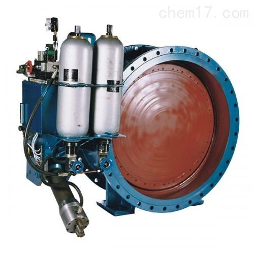 蓄能器式液控缓闭止回蝶阀HD7X41X质量保障