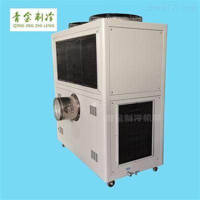QX-8AR风冷式冷风机循环装置双机头吹膜机组