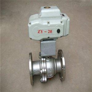 防爆电动O型切断球阀Q941F代理厂家直销
