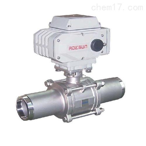 电动高压焊接球阀Q961N性能可靠规格齐全