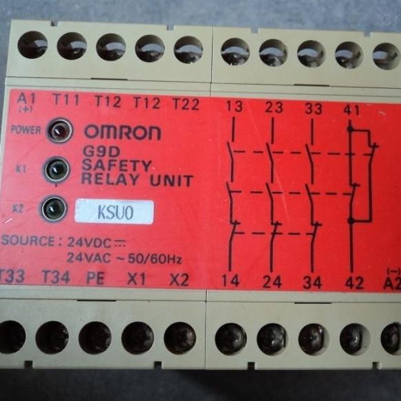 日本欧姆龙OMRON安全继电器