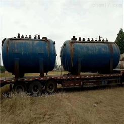 二手30吨反应釜回收