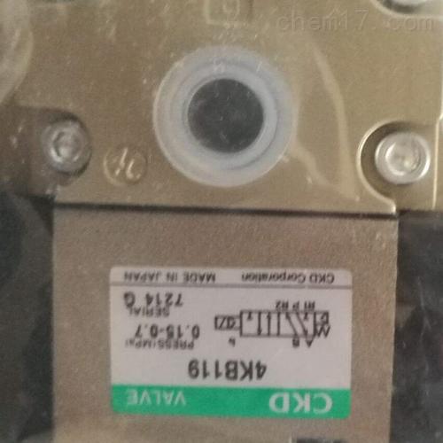 日本CKD减压阀的工作原理和选用
