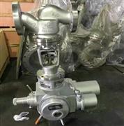 J941W-25P多回转不锈钢法兰电动截止阀