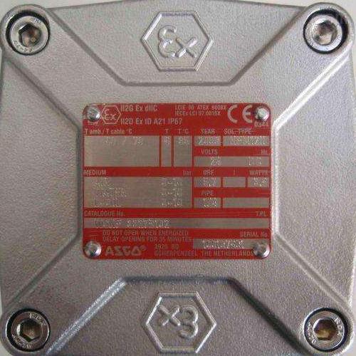 美国阿斯卡ASCO热水蒸气电磁阀EF8210G089采购价