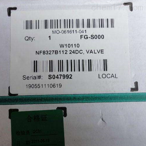 美国ASCO防爆电磁阀8300G404F优惠特价