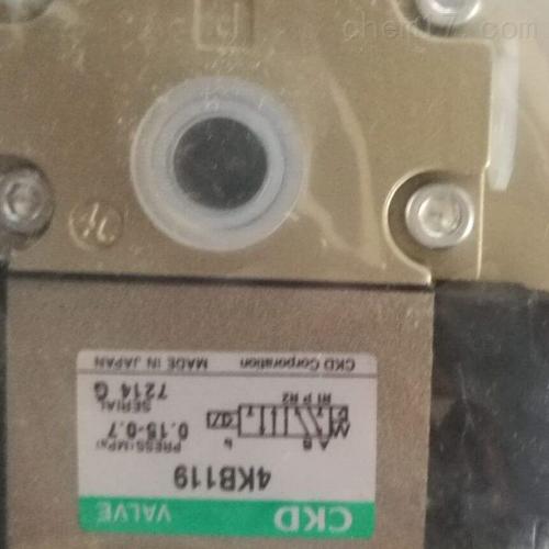 日本CKD气缸 双作用·背靠型(-B)
