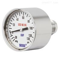 型号 432.10, 432.15德国威卡 WIKA微型膜片压力表