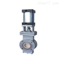 GZ643TC不锈钢气动陶瓷单闸板阀