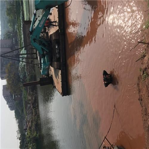 红河沉管工程公司-取水管道水下安装