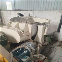 二手化工厂直销2000升电加热螺杆出料捏合机