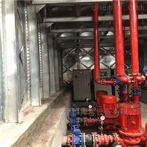 定制抗浮式消防恒压给水设备内部的主要结构