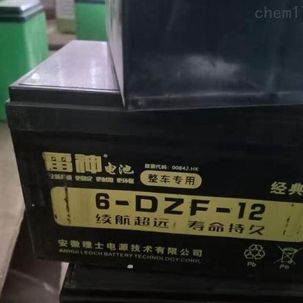 理士雷神6-DZF-12 电动车用铅酸蓄电池
