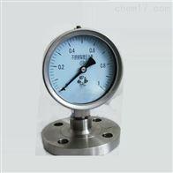 Y-100A/Z/Z不锈钢隔膜压力表