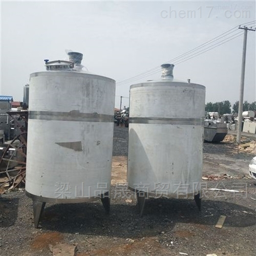热销二手5吨不锈钢搅拌罐