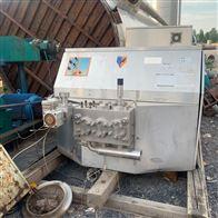 1-5吨回收二手乳品设备 均质机