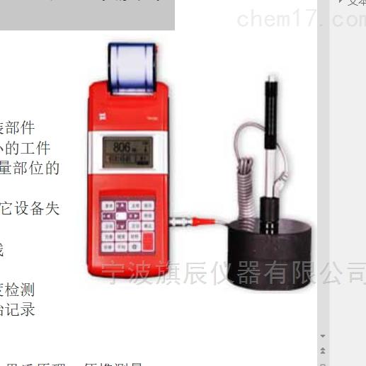 时代TIME5301里氏硬度计