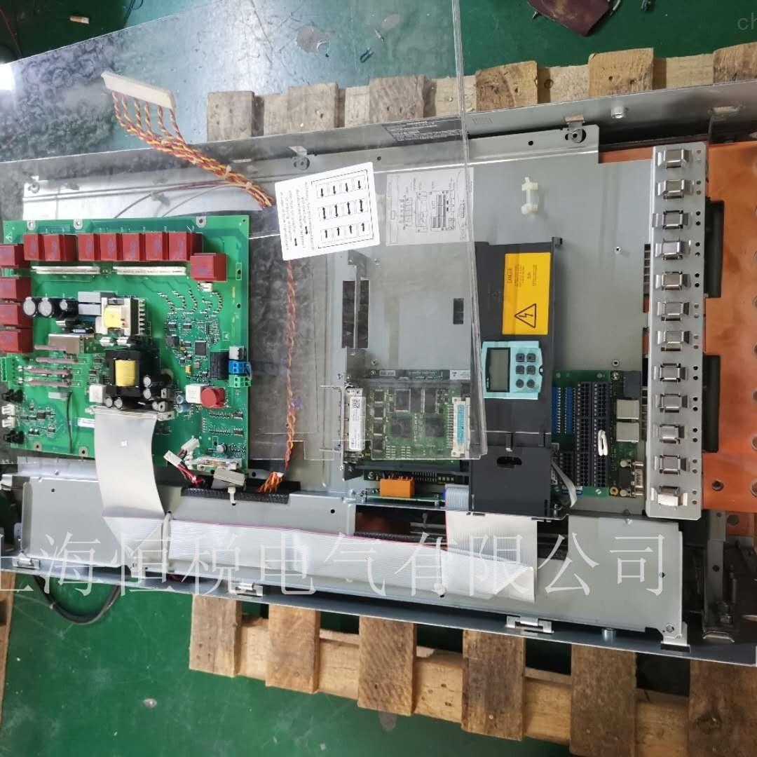 西门子6RA8093开机报警F60097故障原因分析