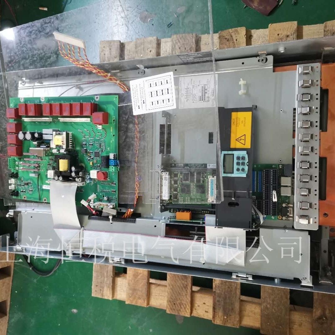 西门子调速器6RA8091启动无励磁电压维修