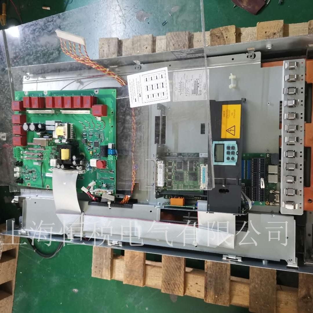 西门子调速器6RA8091上电运行烧保险修复