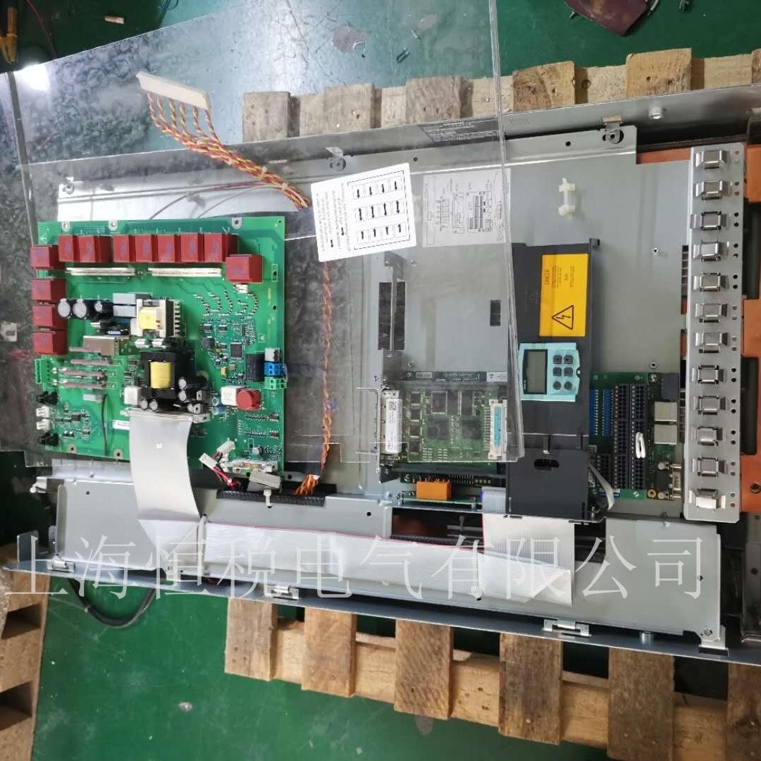 西门子直流调速器上电报警F60005原因分析