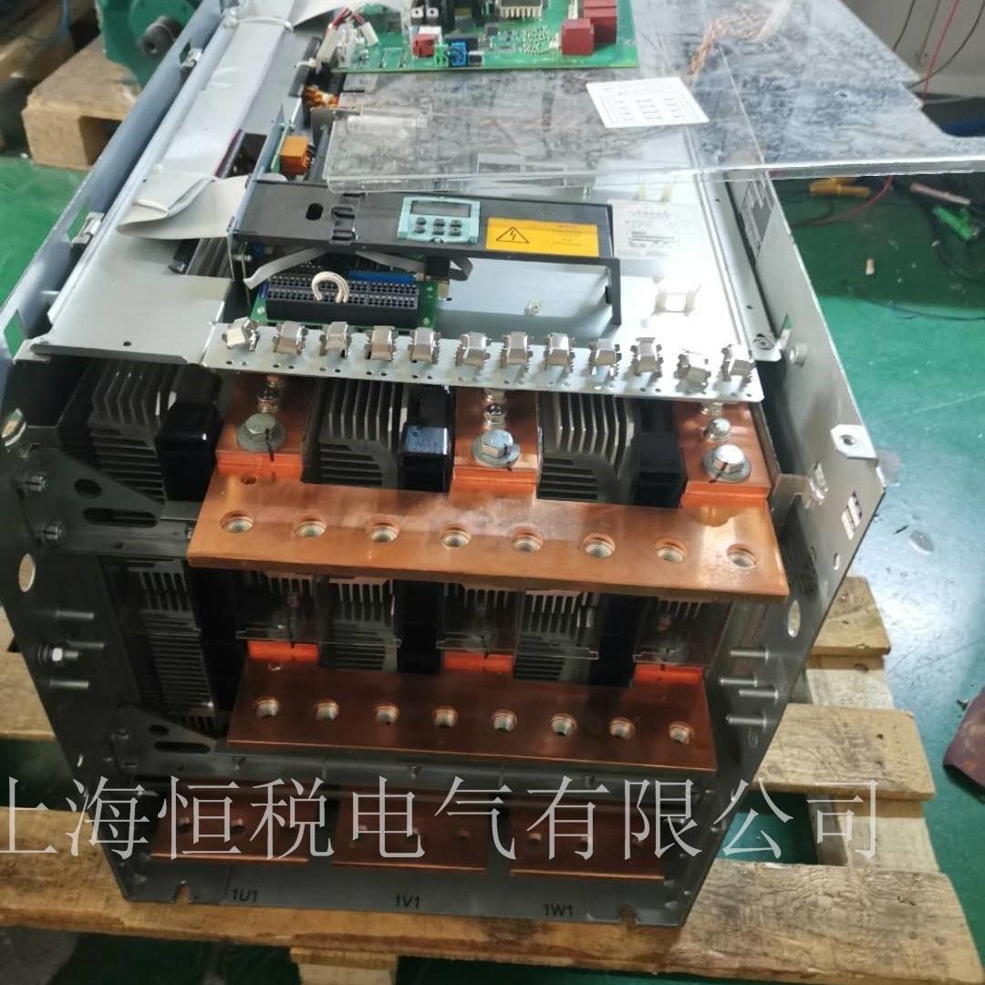 西门子6RA8087调速器运行模块炸十年修复