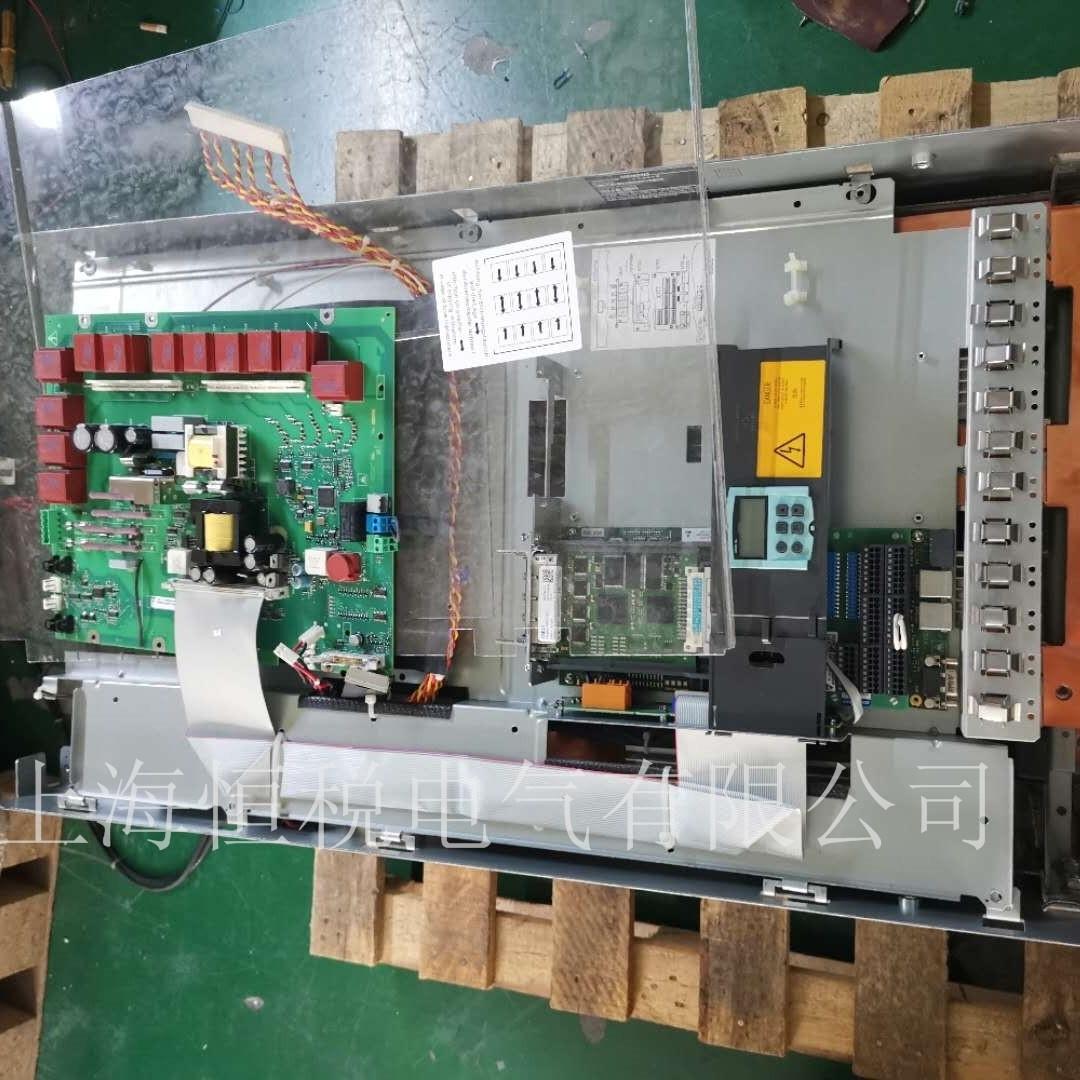 西门子6RA8085开机报警F60004当天解决故障