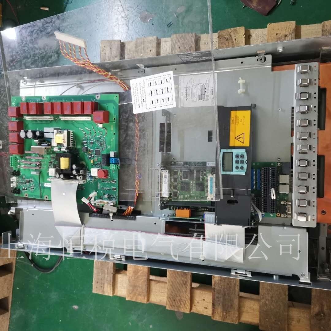 西门子变频器6RA80显示报警F60096修复解决